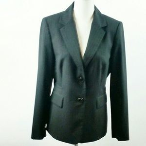 Antonio Melani black pin stripped blazer size 8